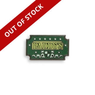 PADDYS PUB OUT OF STOCK