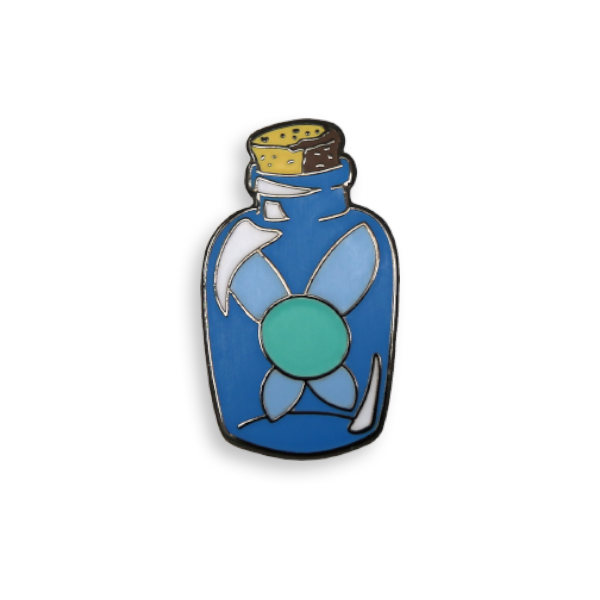 Blue Fairy In A Bottle II